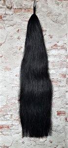 PEX inzetstaart zwart 94 cm