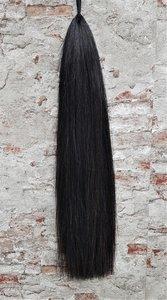 PEX inzetstaart zwart, 82 cm.