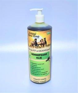 Hennepzaad olie voor paarden