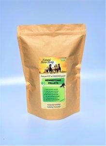 hennepzaad pellets voor paarden